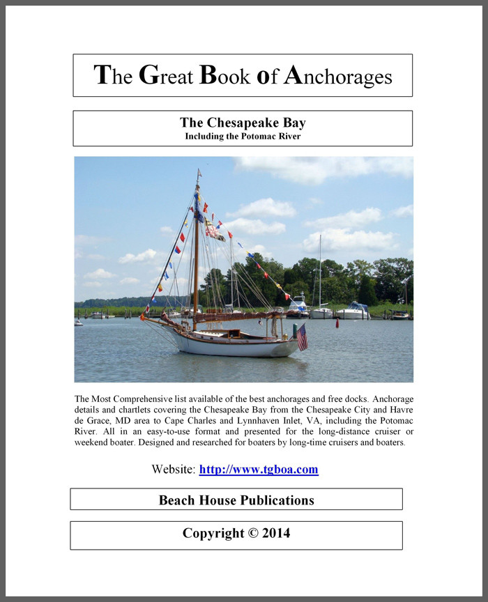 The Great Book Of Anchorages, Chesapeake Bay