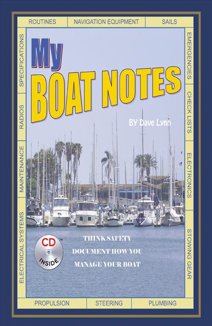 My Boat Notes with CD