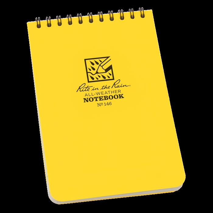 All Weather Pocket Journal Hip Notebook