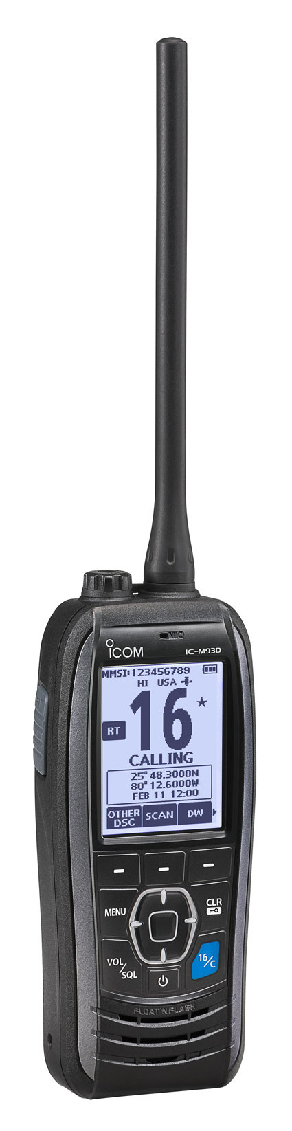 Icom IC-M93D VHF Radio w/ DSC