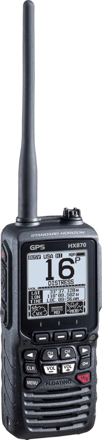 Standard Horizon HX870 DSC VHF Radio
