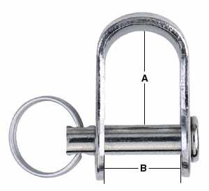 Harken 5mm Stamped Shackle