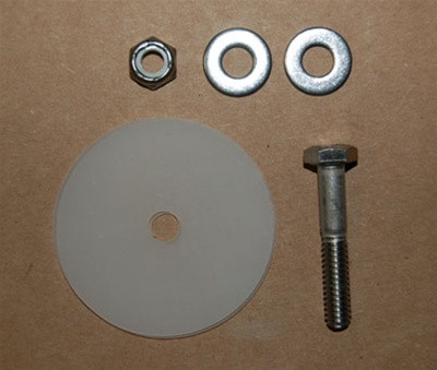 Laser Performance Pin, Pivot, Rudder for Sunfish