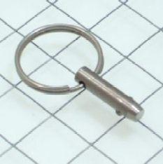 """Schaefer Quick Release Pin, 1/4""""x .5"""" Grip"""