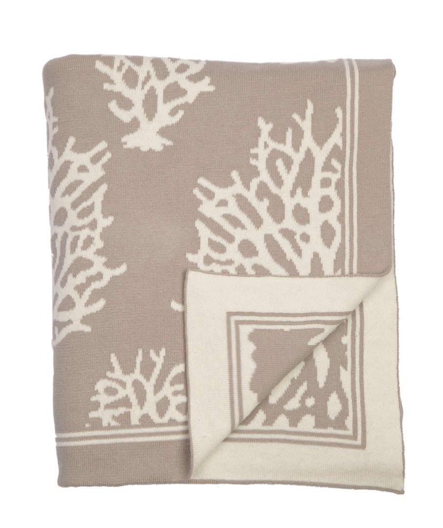 Darzzi Nautical Coral Throw Blankets