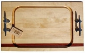 Soundview Millworks Nautical Steak Board, Medium