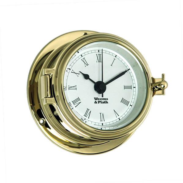 Weems & Plath Endurance II 105 Quartz Clock w/ Roman Numerals
