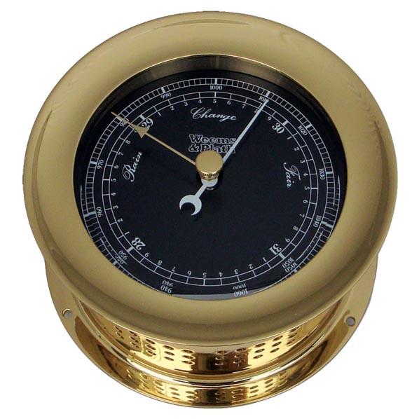 Weems & Plath Atlantis Premiere Barometer Black Dial/ White Scale