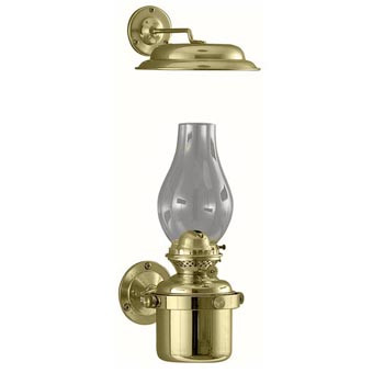 Weems & Plath DHR Gimbal Lamp With Smoke Bell