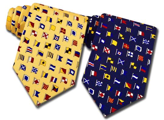 Alynn Neckwear International Signal Flag Ties