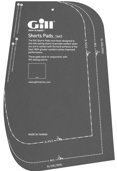 Gill Cut-to-fit Pad Inserts