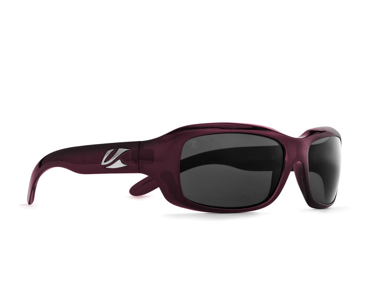 Kaenon Bolsa Sunglasses - Eggplant Frame w/ Grey Lens