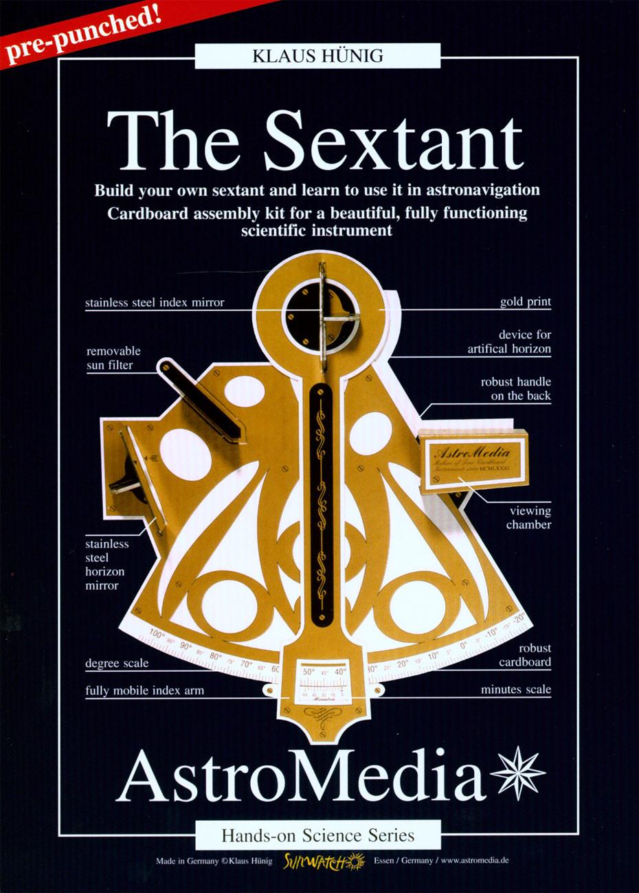 Cardboard Sextant Kit