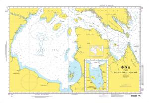 NGA Nautical Chart - 111 Hudson Strait and Bay with Continuation of James Bay