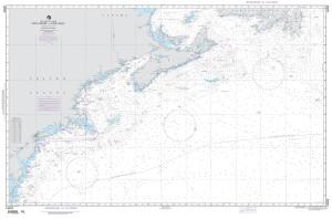 NGA Nautical Chart - 14003 Cape Race to Cape Henry
