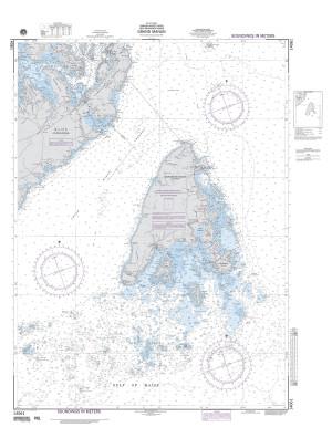 NGA Nautical Chart - 14061 Grand Manan (Bay of Fundy)