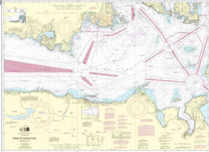 Training Chart - Strait of Juan De Fuca-Eastern Part