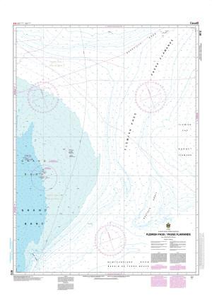 CHS Nautical Chart - CHS8012 Flemish Pass / Passe Flamande