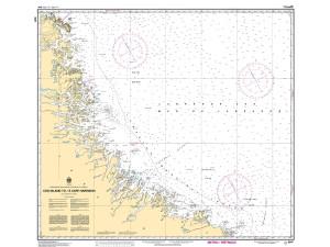 CHS Nautical Chart - CHS8047 Cod Island to / a Cape Harrison
