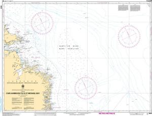 CHS Nautical Chart - CHS8048 Cape Harrison to / a St. Michael Bay