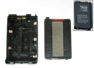 Icom BP-226 Battery Case