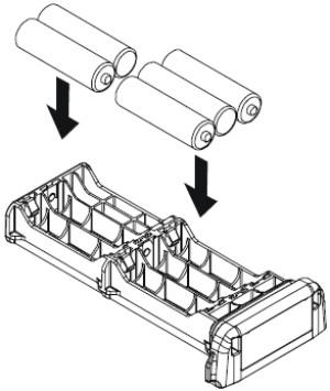 FBA-38 Alkaline Battery Tray