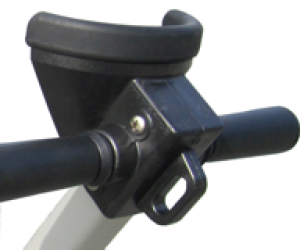 Dynamic Dollies Handle Fitting #2 (Wide Cradle)