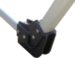 Dynamic Dollies Elbow Fitting 30 Degrees (Flared Bow)