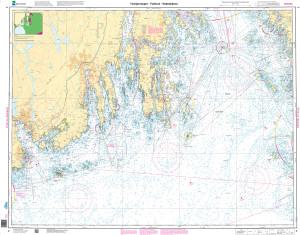 NHS Nautical Chart - NHS002 Torbjornskjaer - Fulehuk - Rakkebaene