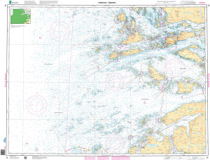 NHS Nautical Chart - NHS026 Hasteinen - Batalden