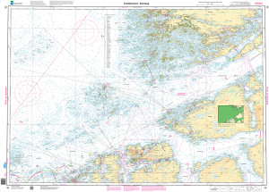 NHS Nautical Chart - NHS036 Kristiansund - Kyrhaug