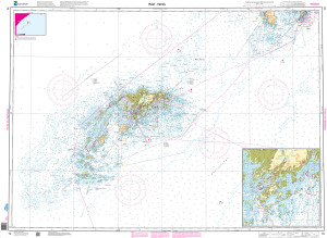 NHS Nautical Chart - NHS070 Rost - Vaeroy