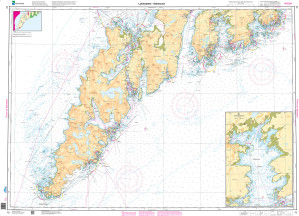 NHS Nautical Chart - NHS072 Lofotodden - Stamsund