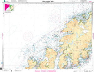 NHS Nautical Chart - NHS074 Fuglehuk - Ramberg - Eggum