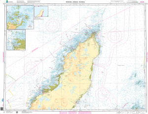 NHS Nautical Chart - NHS081 Nordmela - Andenes - Dverberg