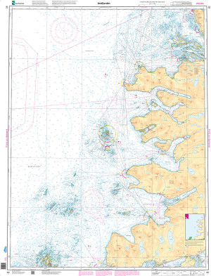 NHS Nautical Chart - NHS082 Andfjorden
