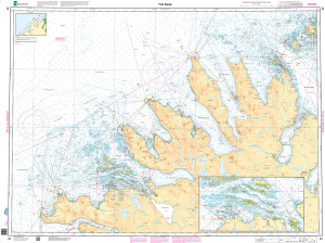NHS Nautical Chart - NHS085 Ytre Senja