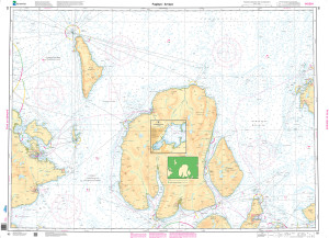 NHS Nautical Chart - NHS093 Fugloya - Arnoya