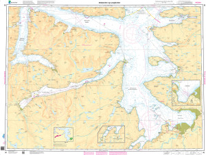 NHS Nautical Chart - NHS096 Altafjorden og Langfjorden