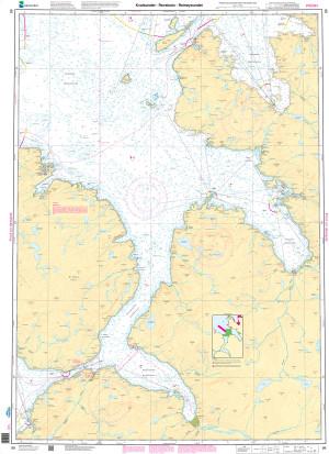 NHS Nautical Chart - NHS099 Kvalsundet - Revsbotn - Reinoysundet