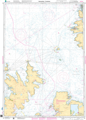 NHS Nautical Chart - NHS101 Hammerfest - Fruholmen