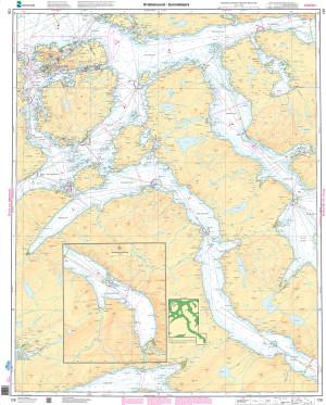 NHS Nautical Chart - NHS128 Kristiansund - Sunndalsora