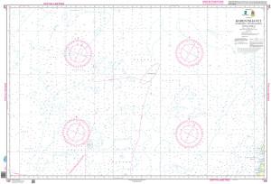 NHS Nautical Chart - NHS506 Barentshavet, fra Storbk/Sentralbk til Nov.Zemlja