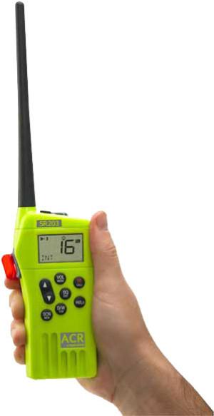 ACR VHF/GMDSS Survival Radio