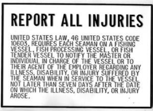 Injury Report Plaque