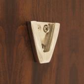 """Weems & Plath Wall Bracket (Nickel) for 5"""" Nickel Bell #5050N"""