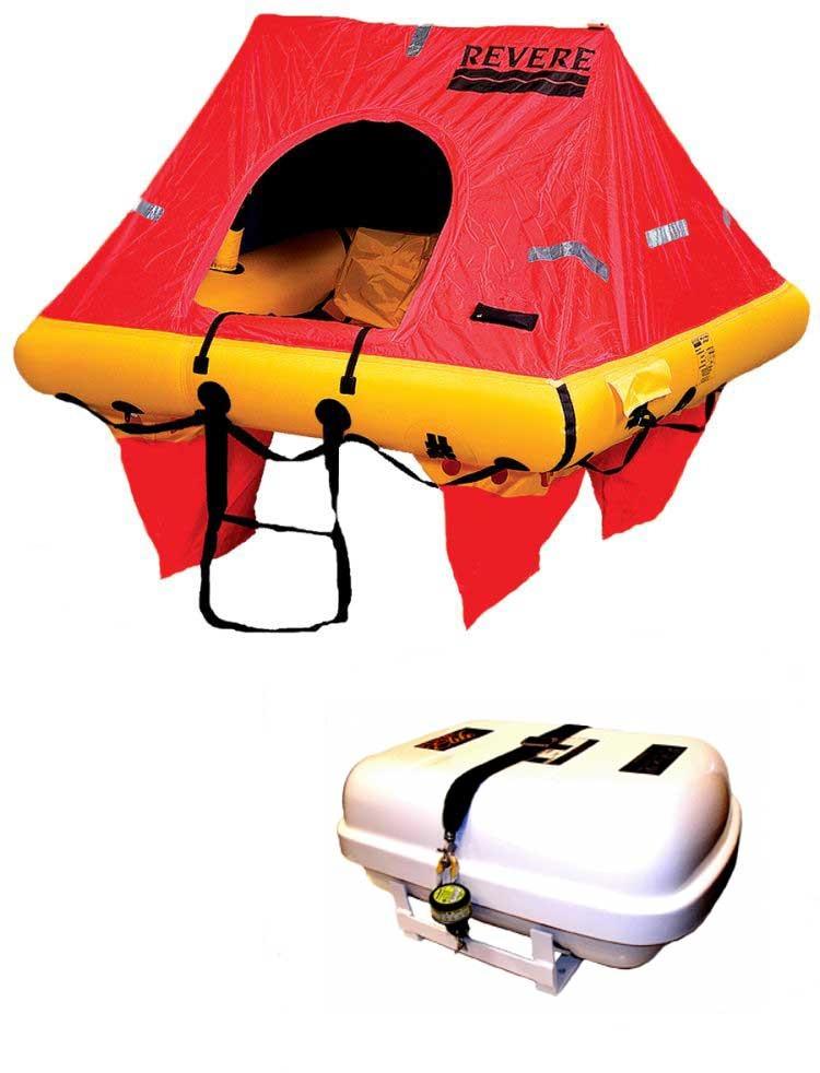 Revere Coastal Elite Life Raft