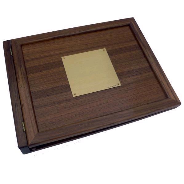 weems plath teak logbook cover blank