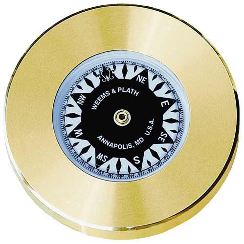 Weems & Plath Brass Chart Weight Compass
