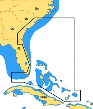 C-MAP MAX Wide - Southeast US Incl. Explorer Bahamas